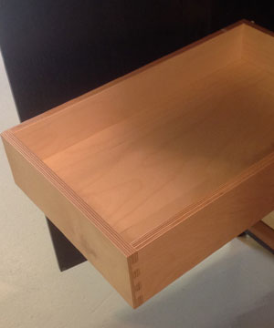 Plywood Dovetail with Soft Close